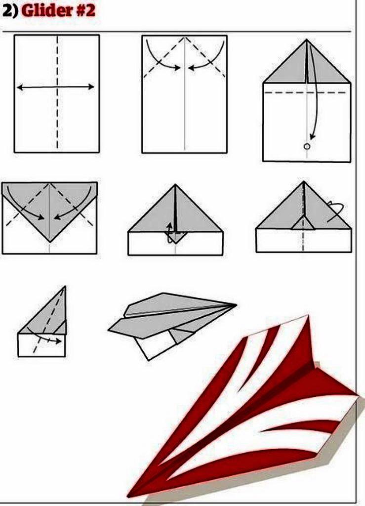 Учимся делать самолетики с