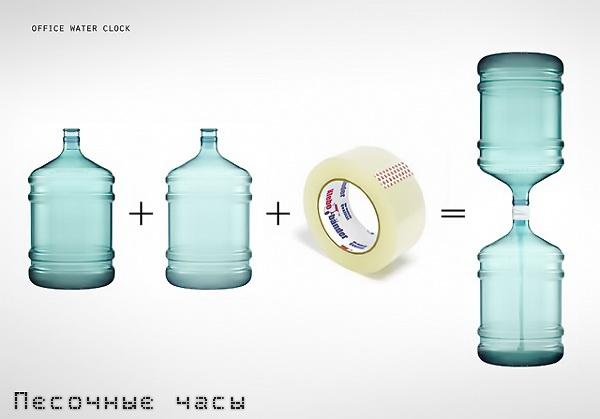 Водяные часы как сделать
